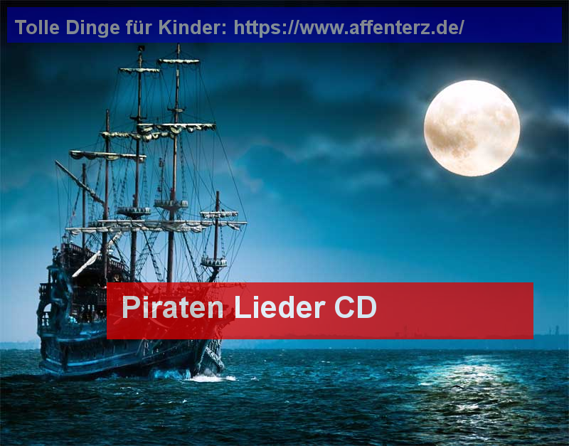 Piraten Lieder CD - Nichts für Landratten - Party, Piraten.