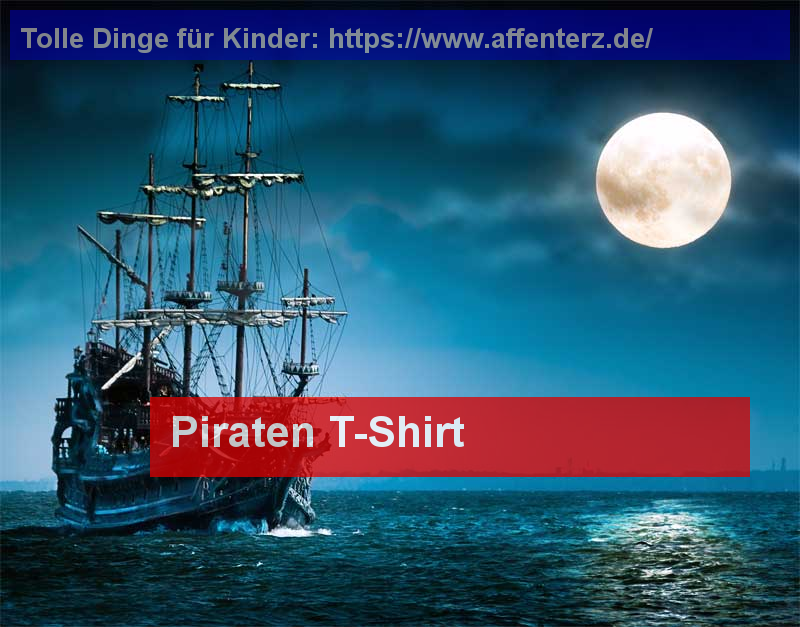 Piraten T-Shirt - Spannende Erlebnisse - Kinder, Piraten.